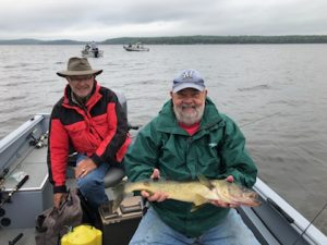 Mike with 27-inch Walleye Canada